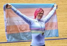 Transgender cyclist Rachel McKinnon dominates, competitors raise questions
