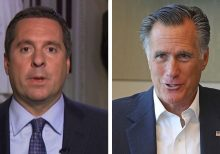 Rep. Nunes rips Mitt Romney, compares him to James Comey
