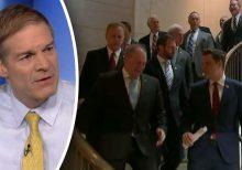 Jim Jordan defends GOP lawmakers who stormed impeachment inquiry room
