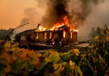 Northern California Kincade Fire evacuations expand to 90,000 residents amid 'historic' wind event