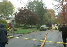 New Jersey small plane crash leaves multiple homes on fire