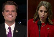 Gaetz calls out Democrats for not defending Katie Hill