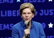 Warren says health insurance workers laid off under 'Medicare-for-all' can work in auto, life insurance