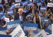 Ilhan Omar, at Bernie Sanders rally, calls for 'mass movement of the working class,' end to 'Western impera...
