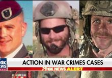 Trump to take imminent action on cases of three military members accused of war crimes