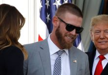 Washington Nationals' Stephen Strasburg denies snubbing Trump at White House