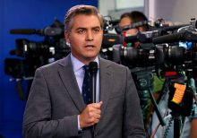 CNN's Jim Acosta says journalists shouldn't be 'referees' after being compared to a 'columnist' during inte...