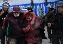 Bolivia mayor dragged through streets, has hair cut by protesters as election violence swells