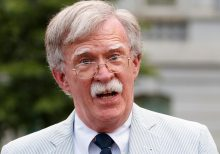 Officials say Bolton shut down Ukraine meeting, warned of 'hand grenade' Giuliani: transcript