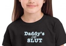 Amazon pulls 'Daddy's Little Slut' T-shirt for children amid backlash