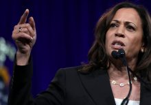 Kamala Harris releases never-before-seen video from 2016 election night: 'This is some s***'