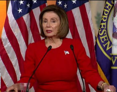 Nancy Pelosi refers to reporter as 'Mr. Republican talking points' after whistleblower question