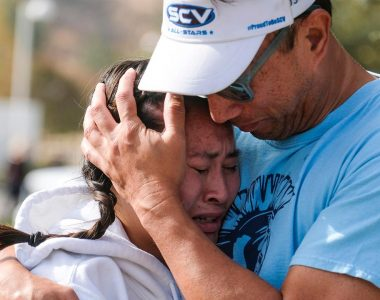 California shooting prompted fearful students to text families: 'i love you and dad so much'