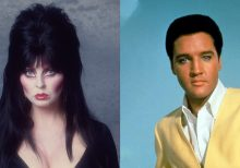 Elvira, Mistress of the Dark, recalls her 'sort of a date' with Elvis Presley at age 17