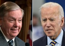 Biden fumes at Graham over request for documents on son: 'I'm just embarrassed by what you're doing'