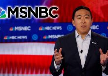 Andrew Yang won't return to MSNBC until they apologize 'on-air' to his campaign