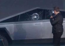 Elon Musk explains Tesla Cybertruck window fail, says 200K have been ordered already