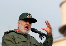 Iranian commander warns US, allies, 'We will destroy you'
