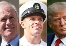 Fired Navy secretary criticizes Trump for 'shocking' intervention in SEAL case