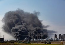 Evacuation order lifted amid Texas plant fire, blaze contained, officials say
