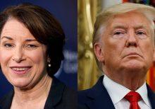 Klobuchar hints she'll vote to convict Trump if impeachment trial reaches Senate