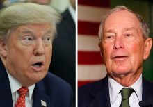 Trump rips 'Mini Mike' Bloomberg, NY Times after campaign bans 'third rate' Bloomberg News from campaign ev...