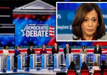 Harris' 2020 exit leaves potentially all-white debate, causing consternation among Dems