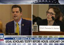 Matt Gaetz grills impeachment witnesses over Democratic donations, slams professor's dig at Barron Trump