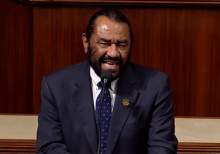 Rep. Al Green rips slams committee over impeachment experts: 'not one person of color'