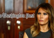 Washington Post mocked for suggesting Melania Trump could be 'sending coded messages'