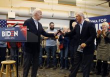 Biden ripped for hitting Iowa trail with Obama alum making $1M-a-year off dairy farmers