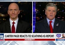 Carter Page: I have a 'team of attorneys' scouring Horowitz report for potential lawsuits