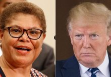 Democrat Karen Bass says she's open to impeach Trump again if he gets reelected in 2020