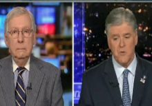 Hannity exclusive: McConnell says 'zero chance' Trump is removed, 'one or two Democrats' could vote to acquit