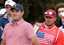 PGA officials dismiss Patrick Reed's caddie following shoving 'incident' with Australian spectator