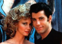 Olivia Newton-John and John Travolta dress up as their iconic 'Grease' characters 40 years later