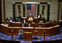 House approves $1.4 trillion spending bill, repealing ObamaCare taxes