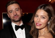 Justin Timberlake draws mixed reactions after commenting on Jessica Biel's Instagram post