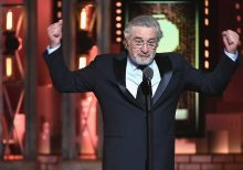 Robert De Niro wants Trump to get a bag of this thrown in his face