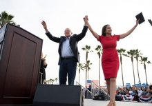 Bernie Sanders, AOC hit the beach with LA rally, take swipes at Buttigieg over 'wine cave' fundraiser