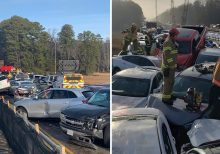 Massive 35-car pileup in Virginia leaves several with life-threatening injuries, shuts down interstate