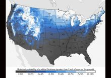 White Christmas in the forecast? Here's what history and forecasters say are the chances