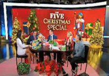 Greg Gutfeld gives his 'The Five' co-host bizarre Secret Santa gift