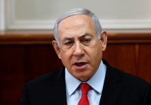 Netanyahu rushed to bomb shelter after rocket attack on southern Israel