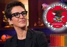 Rachel Maddow says 'implosion' of NRA would be 'biggest' political story if not for impeachment