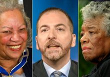 MSNBC's Chuck Todd faces backlash for confusing Toni Morrison with Maya Angelou