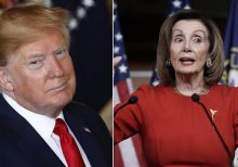 Trump calls Dems 'Liars!' for deeming him security threat – and then pausing impeachment