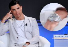 Cristiano Ronaldo spotted wearing Rolex's most expensive watch ever made