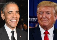Trump, Obama tied as 'most admired man' for first time: poll
