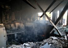 New photos show widespread fire damage in aftermath of militants' attack on U.S. embassy in Baghdad